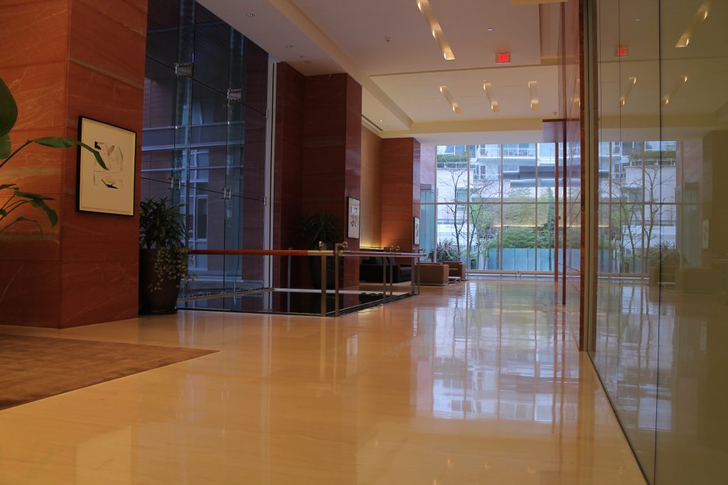 HG1 lobby entrance